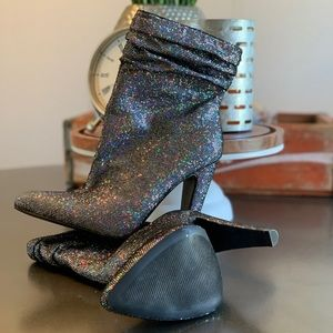 Steve Madden Shoes - Steve Madden Holographic Booties